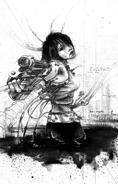 Ghost in the shell by ~Karbonk on deviantART