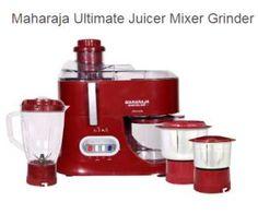 Main item Configuration Maharaja Ultimate Juicer Mixer Grinder (JX-101) Main item/Add component color Red Main item/Add component Material 1. Pusher 2. Pusher Opening 3. Juicer Cover 4. Juicer mesh 5. Juice Container 6. Juice Container Lid 7. Mesh Housing 8. Motor Coupling 9. Clamp 10. Switch panel 11. Motor Housing 12. Blender Jar 13. Dry … Continue reading Maharaja Ultimate Juicer Mixer Grinder JX 101