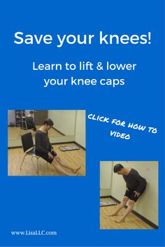 If you have knee pain chances are you have chronic tension in your quads. Learn one simple tip in this article to release chronic tension and improve the health of your knees.