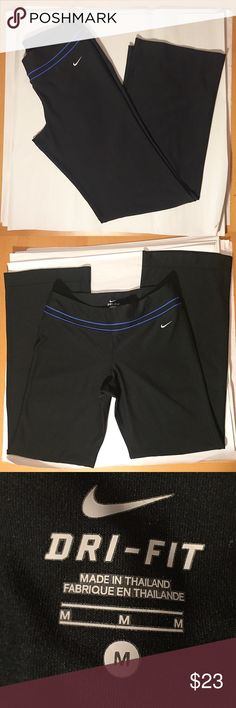 Nike Dry-Fit workout pants Barely worn, in excellent condition! Size M. Nike Pants