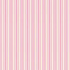 FREE Digital Scrapbook Paper - Pink and Cream Ticking Stripes...