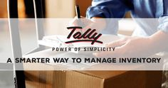 One of the most diverse multi-faceted software that aids in inventory control management is Tally.