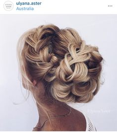 Love this updo! Braided Hairstyles For Wedding, Fancy Hairstyles, Braided Updo, Latest Hairstyles, Bun Braid, Bridal Hairstyles, Bun Updo, Layered Hairstyles, Put Ups Hairstyles