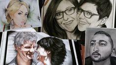 Projekt: Pastellkleide-Porträts