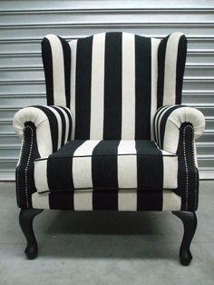 upholster the chairs like this.  Do the sofa in Burgundy velvet.