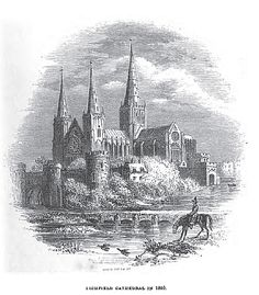 Lichfield Cathedral 1610