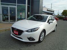 2015  Mazda3 NAV! 15, 995$ **BACKUP CAM, BLUETOOTH & CRUISE!** GS SPORT