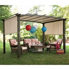 I need to figure out a cheap way to make a DIY shade for my pergola.
