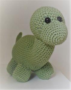 Free Dinosaur Amigurumi Pattern