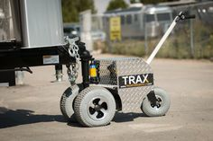 Trailer Dolly - Compact and Lightweight trailer moving solutions. Enjoy the new freedom of owning a TRAX Power Dolly assisting you to easily move your trailers anywhere! Trailer Dolly, Power Trailer, Trailer Build, Toy Hauler Trailers, Travel Trailers, Lightweight Trailers, New Freedom, Retro Campers, Jet Ski