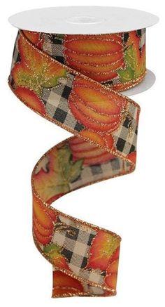 "rustic glittered poinsettia craft per metre bows Luxury 2.5/"" christmas ribbon"
