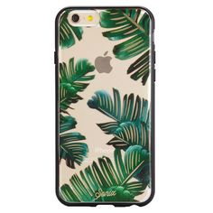 Take your iPhone on a vacation with this tropical print iPhone 6/6+ Case. Transparent polycarbonate back Impact-resistant bumper Slim and lightweight  Raised ru