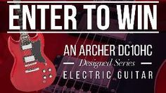 Interstate Music - Win an Archer DC-10HC Electric Guitar - http://sweepstakesden.com/interstate-music-win-an-archer-dc-10hc-electric-guitar/
