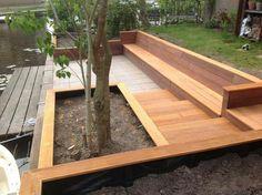 Lake Landscaping, Outdoor Shelters, Outdoor Steps, Backyard Buildings, Wooden Steps, Backyard Pergola, Outdoor Gardens, Garden Design, Home And Garden