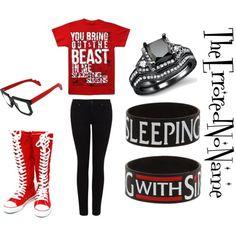 Emo Polyvore Outfits for Girls | polyvore.com/cgi/img-set/BQcDAAAAAwoDanBnAAAABC5vdXQKFlhJOXN...