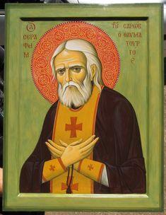 Исихастирий Святого Серафима Саровского Скуриотисса Christianity, Saints, Baseball Cards, Gallery, Characters, Christians