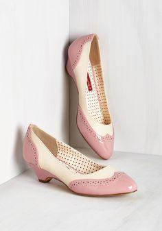 Sweet Spectator Heel in Petal