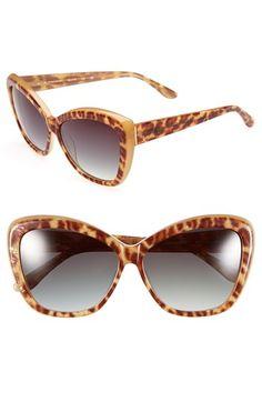 Elie Tahari 60mm Cat Eye Sunglasses   Nordstrom