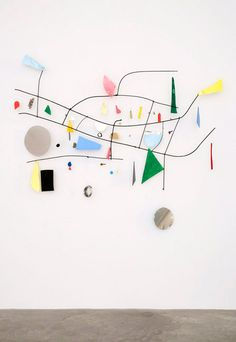 Nathan Carter  Br double ok to the y n street treasures. 2010  Steel, enamel paint, wood, wire, Plexiglas, found objects.