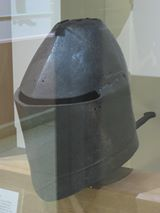 Great Helm, Royal Armouries, Leeds ref_arm_1459 Date: 1400-1420 Culture: English