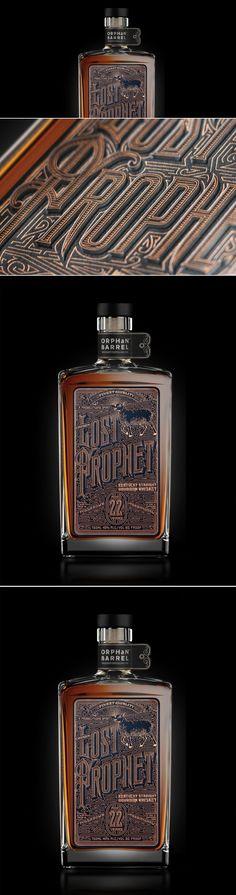 Orphan Barrel: Lost Prophet Label — The Dieline - Branding & Packaging Design