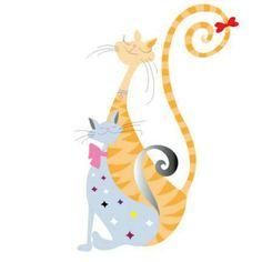 Cats illustration. Customizations are possible.
