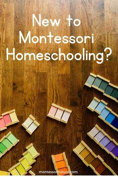 New to Montessori Homeschooling - Easy Pin Playroom Montessori, Montessori Homeschool, Montessori Toddler, Preschool Curriculum, Montessori Materials, Montessori Activities, Maria Montessori, Montessori Theory, Montessori Kindergarten