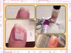The best nail hardener diy style top beauty brands reviewed diy did your nail chip or crack sad isnt it well how to repair your nail materials nail glue tea bag scissors q tip and nail hardener load your nail solutioingenieria Image collections