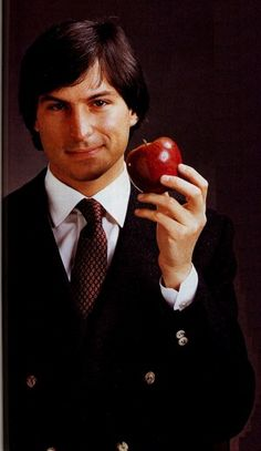 Steve Jobs...Ashton will play him in the upcoming movie...