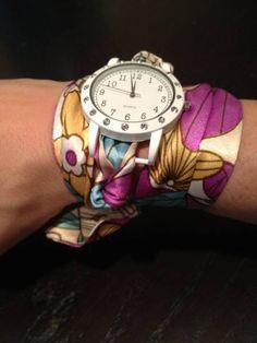 DIY Scarf Watch Band
