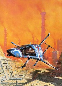 To Open The Sky by Peter Elson, Science Fiction Illustrator #peterelson