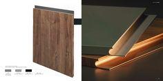 Todo Sobre los Muebles de Cocina Sin Tirador Wall Lights, Lighting, Kitchen, Home Decor, Kitchen Cupboards, Decorating Kitchen, Kitchens, Wooden Gates, Drawers