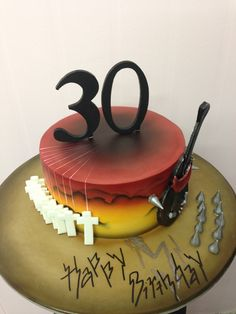 Metallica Master Of Puppets 30th Birthday Cake