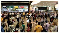Flash Mob no Terminal Rodoviário Tietê