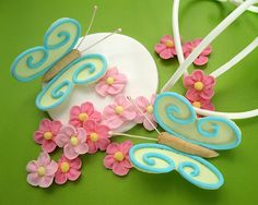 Ceri's royal icing butterflies and blossoms demonstration at SK EXPO 2013