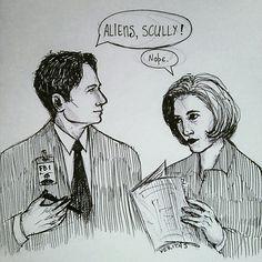 Секретные материалы  Малдер Скалли