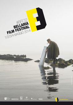 Bellaria Film Festival #BFF32 • 1-4 maggio 2014. Immagine di Valentina Vannicola, progetto grafico di Sara Lanzoni e Sergio Gridelli.