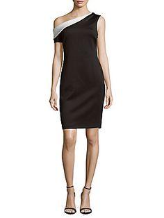 Calvin Klein One-Shoulder Sheath Dress, Calvin Klein One, Sheath Dress, One Shoulder, Dresses For Work, Clothes For Women, Womens Fashion, Benefit, Shopping, Winter