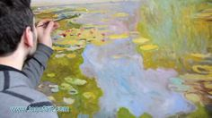 Monet - Water Lilies | Art Reproduction Oil Painting