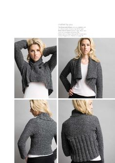Knit issue 10 is a book of winter designs using Jo Sharp luxury knitting yarns. The book includes a Yoke cardigan, a mobius scarf, an easy garter stitch 2 way wrap, a richly textured cable skirt and a cotton t shirt. The book also includes mohair throws and a twisted scarf and much more.