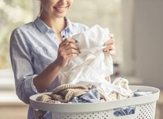 Clothes are meant to come out of the laundry looking better than when they went in, not worse! If you're noticing marks on your 'clean' laundry, it's time to tweak your cleaning routine. Laundry Drying, Doing Laundry, Laundry Hacks, Laundry Detergent, Laundry Room, Dry Cleaning Services, Cleaning Tips, Soap Nuts, Housekeeping Tips