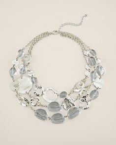 Frost Multi-Strand Necklace
