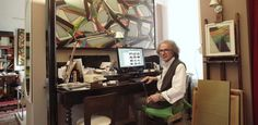 """""""I don't pursue a theme or story right from the beginning, because each cycle starts from the end of the previous cycle."""" Peek inside the studio of Luciano de Liberato"""