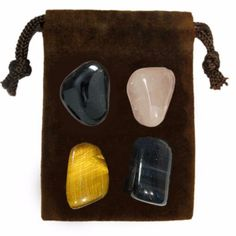 The WILLPOWER Energy Set is a powerful set of four genuine gemstones specially chosen for their individual energies and properties that when used together bring enlightenment, and empowerment to body,