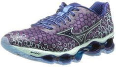 """Mizuno Women's Wave Prophecy 3 Running Shoes Reviews. Purple running shoe. Reviewer: """"No more pain in my knee or foot. I recommend to my all friends."""" http://www.topwomensrunningshoes.com/mizuno-womens-wave-prophecy-3-running-shoe #TopRunningShoes"""
