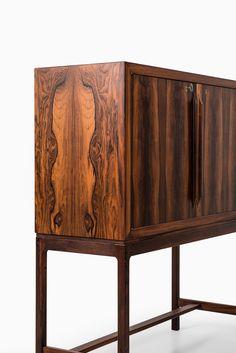 Torbjørn Afdal bar cabinet in rosewood at Studio Schalling