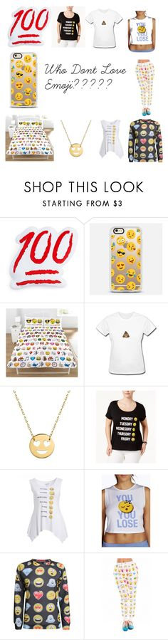 """Who Don't Love Emoji ????????"" by alesiaqua ❤ liked on Polyvore featuring Throwboy, Casetify, Emoji, Jane Basch, Freeze 24-7, Citi Life, Pilot and plus size clothing"