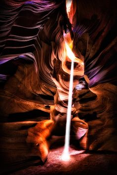 Upper Antelope Canyon lightbeam, this one is pretty rare one, appearing for only a few minutes.