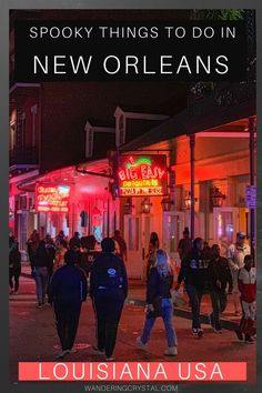 Spooky Things to do in New Orleans - USA - - New Orleans Vacation, New Orleans Hotels, New Orleans Travel, Haunted Graveyard, Haunted Hotel, Haunted Places, Louisiana Usa, New Orleans Louisiana, New Orleans Cemeteries