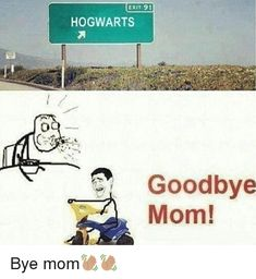 """Hogwarts and """"Markham."""" Say """"Goodbye Mom!"""" Before Going to Fortnite City and Other Epic Locations Harry Potter Jokes, Harry Potter Pictures, Harry Potter Fandom, Harry Potter Universe, Vampire Diaries, Yer A Wizard Harry, Funny Pictures, Funny Memes, Memes Humor"""